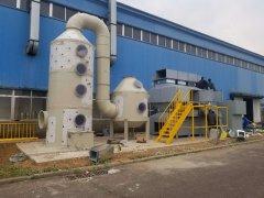 山东某工厂喷漆房有机ysb体育投注ysb体育投注燃烧处理方